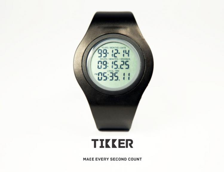 Tikker Death Watch Counts Down To Death