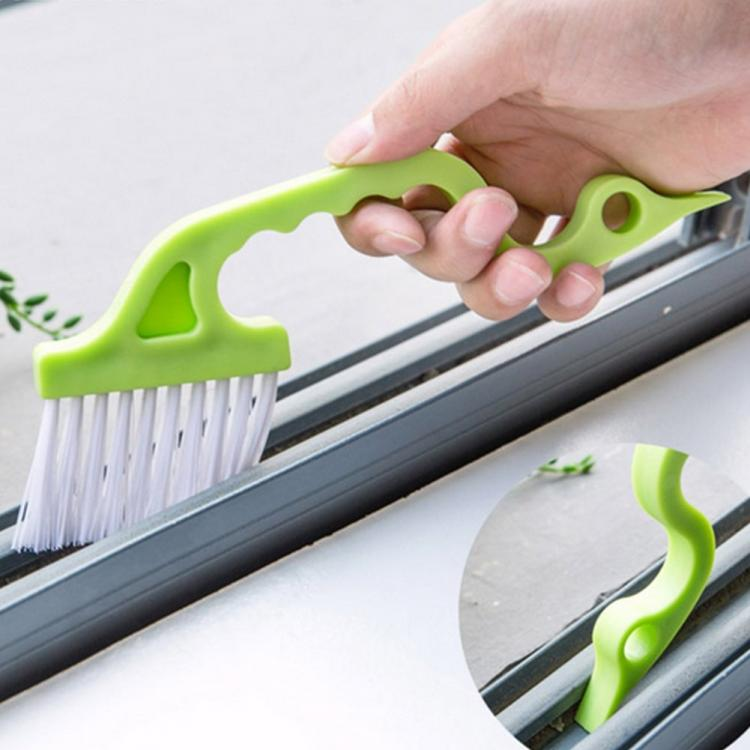 Window Track Brush - Sliding Door Brush - Shower Door Brush - Tight Area Cleaning Brush