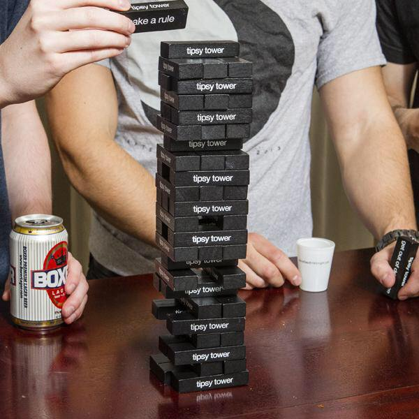 Tipsy Tower Jenga Drinking Game