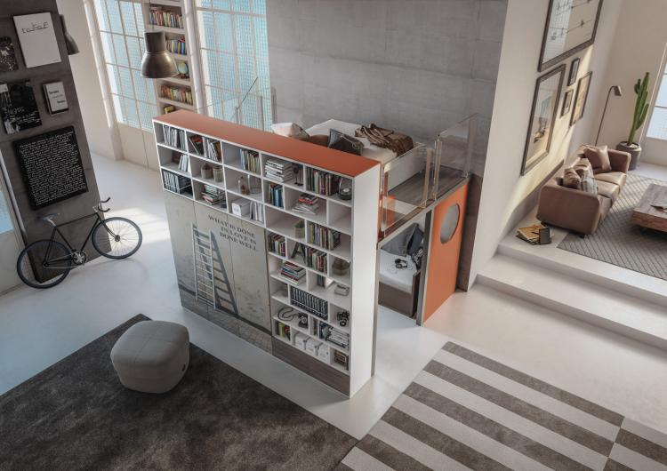 Amazing Modern Loft Designs - Incredible Custom Bedroom Loft Configurations