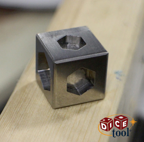 Dice Tool Cube Shaped Multi-tool