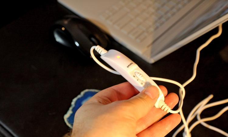 Toast Shaped USB Heated Hand Warmers