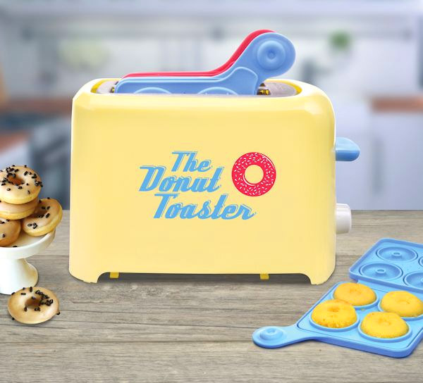 Donut Toaster Makes Homemade Mini Donuts