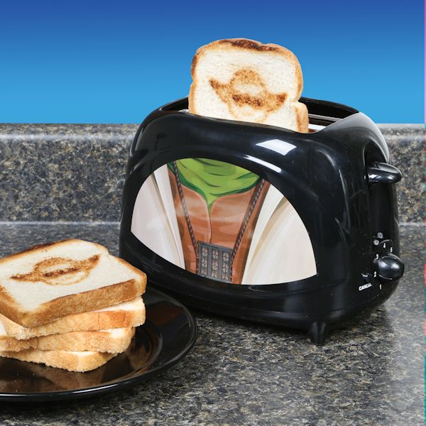BONUS: Yoda Toaster That Toasts Yoda