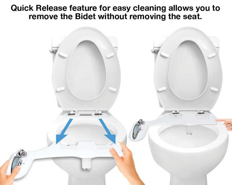 aim to wash bidet toilet attachment night light toilet attachment