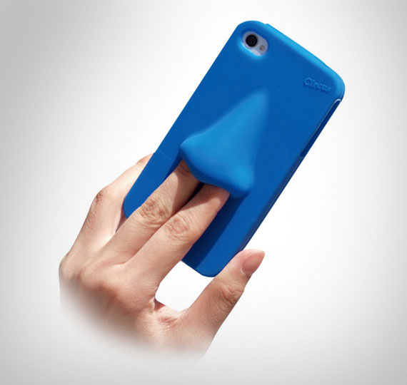 Nose Shaped iPhone Case