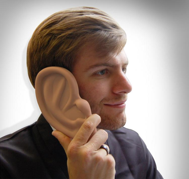 Giant Ear Shaped iPhone Case