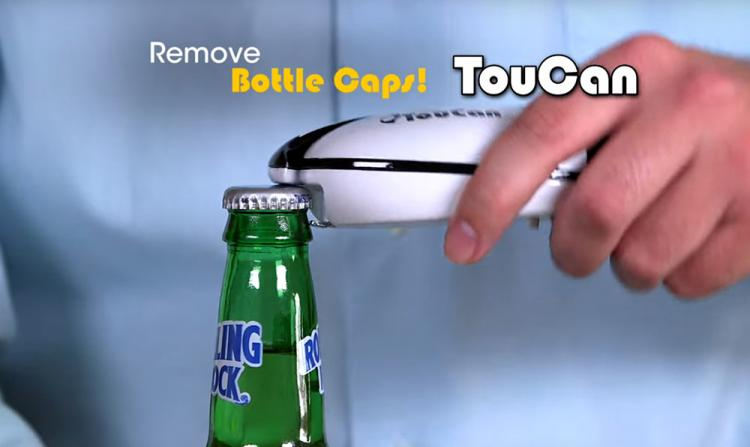 Toucan: Electric Hands-Free Can Opener - Easiest Can Opener Gadget