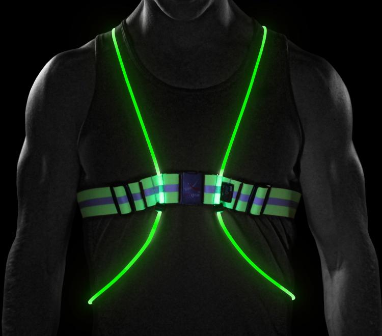 Tracer360 An Illuminated Vest For Running Cycling At Night