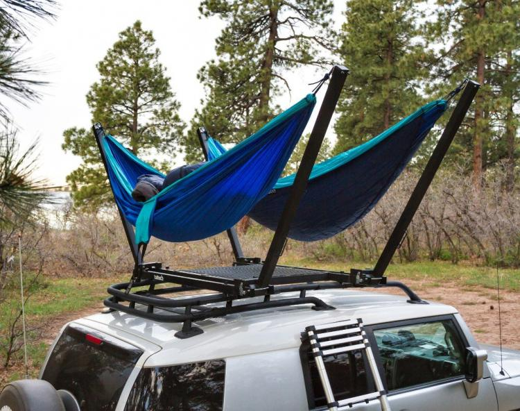 This Rooftop Hammock Puts A Hammock On The Top Of Your Car