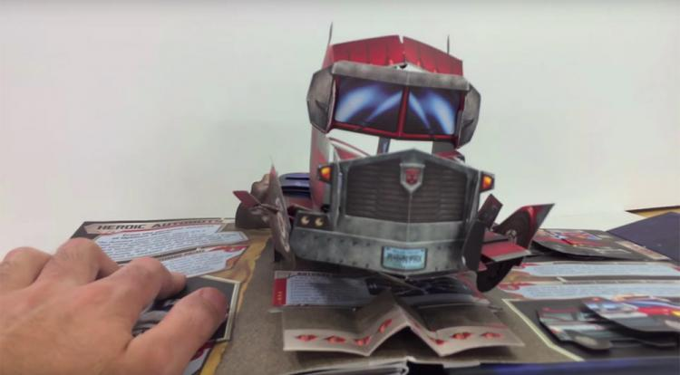Transformers Pop-Up Book