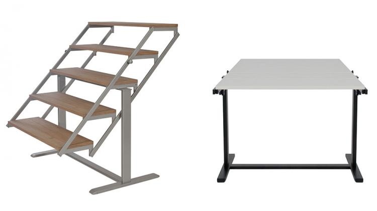 Table Turns Into A Shelf - Transforming Furniture table shelf