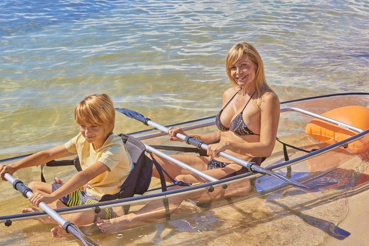 Transparent Kayak - See-Through Canoe