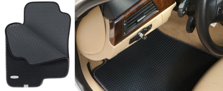 trapmats dual layered honeycomb design car floor mats honeycomb floor mats hide dirt