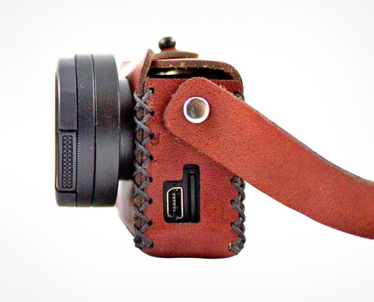 Travlr Vintage Leather GoPro Case
