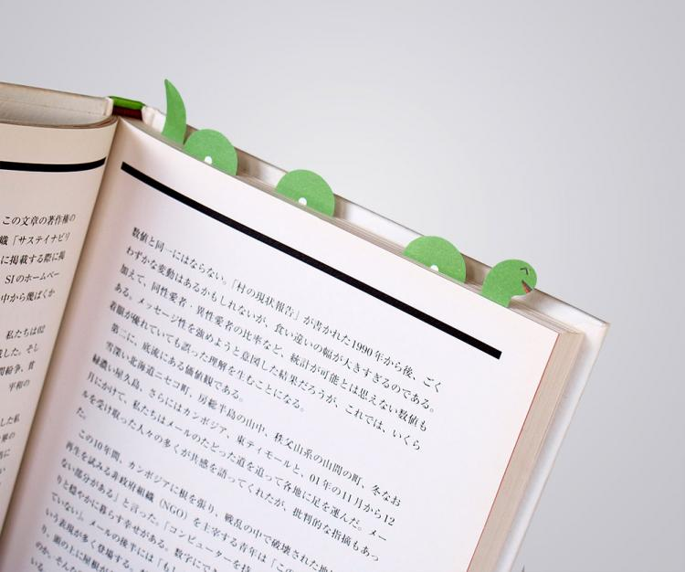 3D Sticky Book Page Markers - Loch Ness Monster