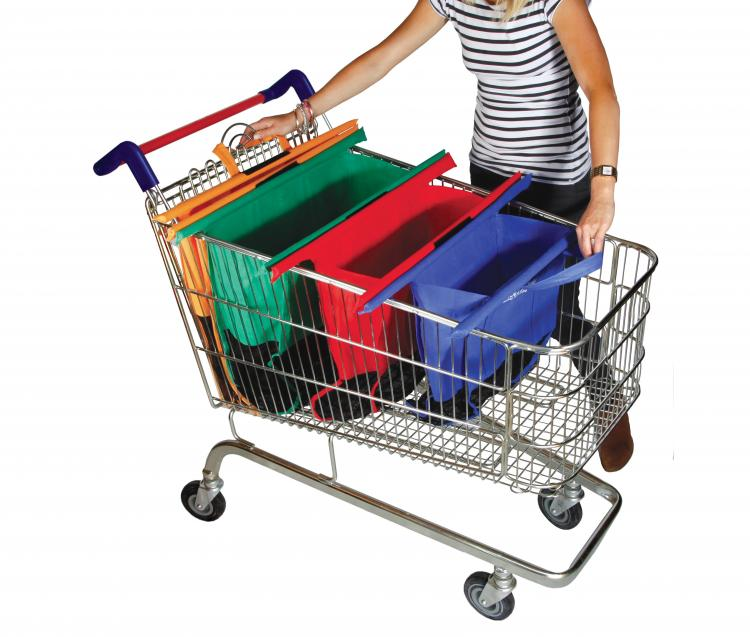 Trolley Bags - Save you from using plastic bags at grocery store