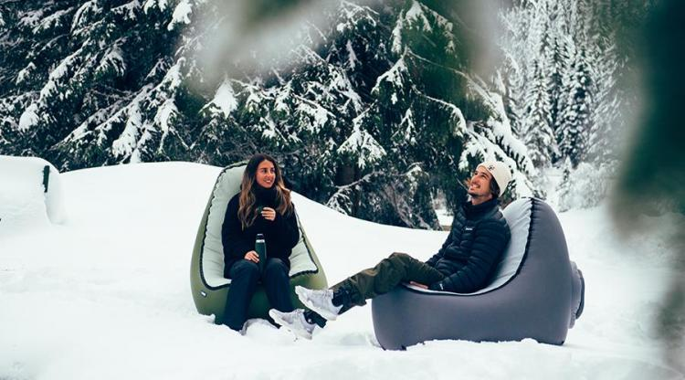 Trono Quick Inflate Chair - Best Travel inflatable chair inflates in just 3 seconds