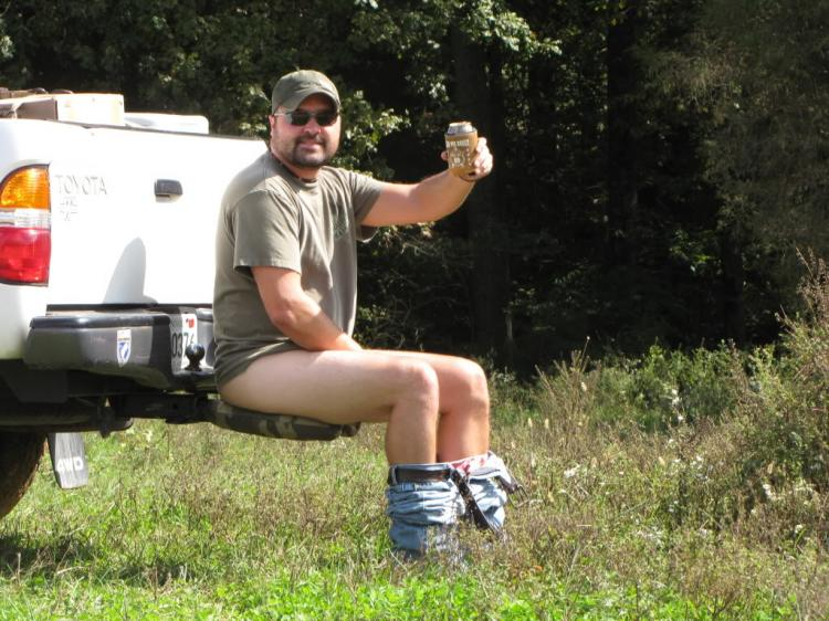 Off-Road Commode - Truck Hitch Toilet Seat
