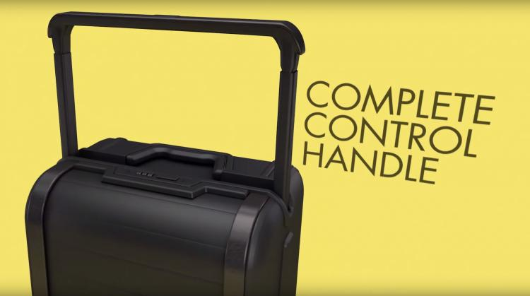Trunkster Smart Luggage With Roll Top Door