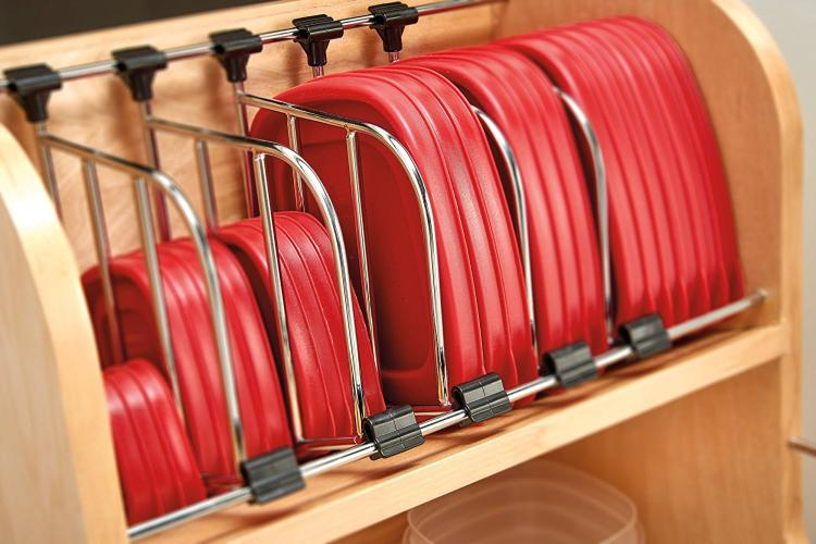 Adjustable Pull-Out Cabinet Drawer For Organizing Your ...