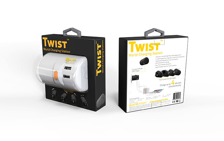Twist World Charging Station
