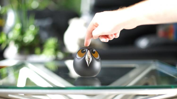 Ulo: Owl Shaped Security Camera