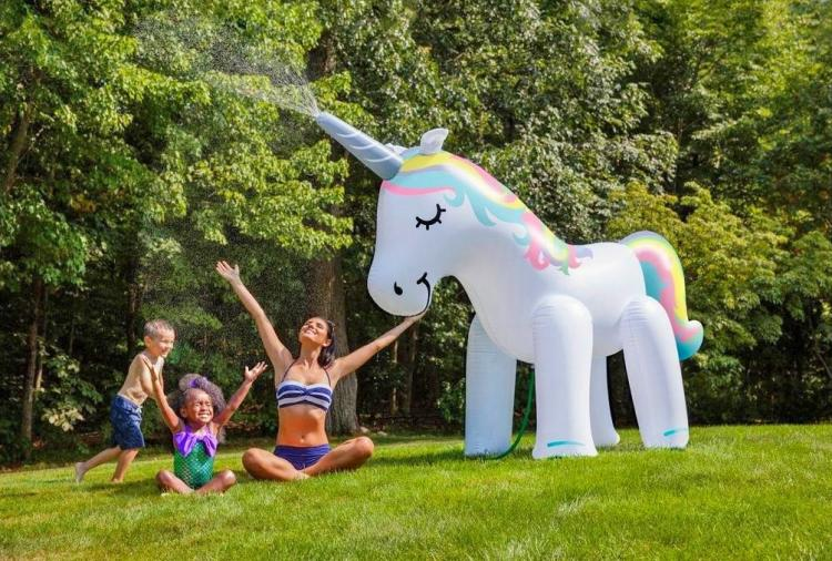Inflatable Outdoor Unicorn Sprinkler