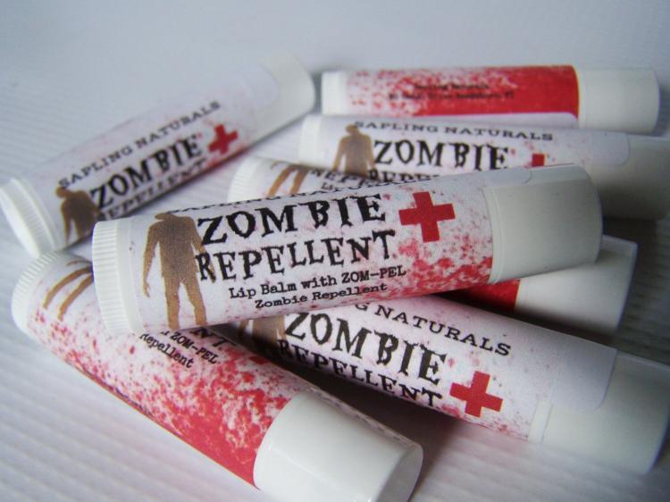 Zombie Repellent Lip Balm
