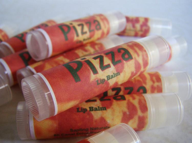 Pizza Flavored Lip Balm