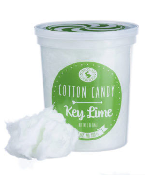Key Lime Cotton Candy