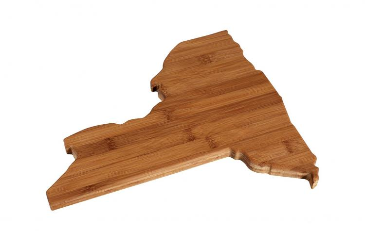 New York Cutting Board - NY Shaped Cutting Board