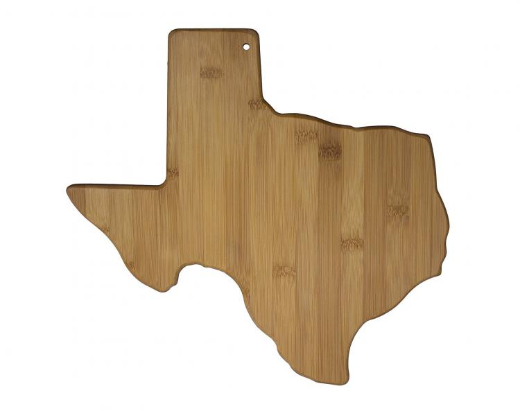 Texas Cutting Board - TX Shaped Cutting Board