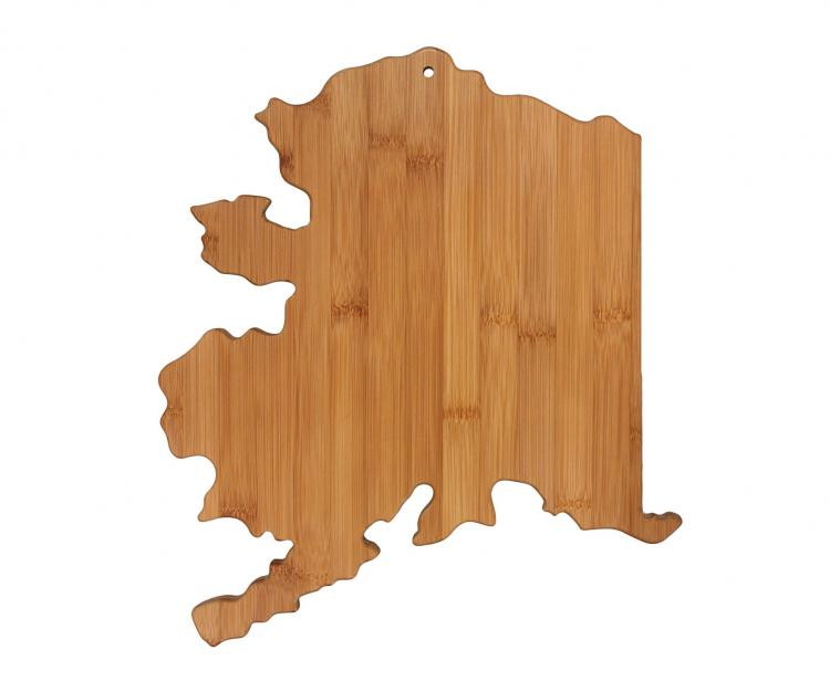 Alaska Cutting Board - AK Shaped Cutting Board