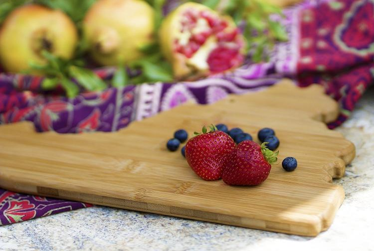 Virginia Cutting Board - VA Shaped Cutting Board