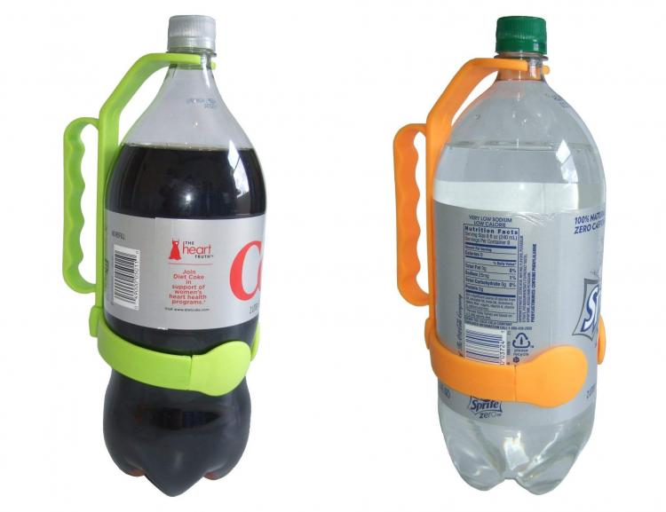 Cooks Innovations Universal Bottle Handle - 2-liter bottle attachment adds handle for easier pouring