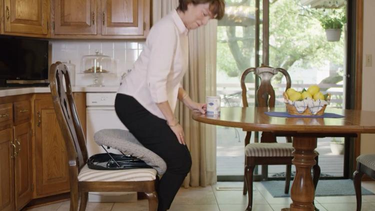 Up N Go Automatic Lifting Cushion Helps Seniors and Disabled Easily Get Up From Sitting Position