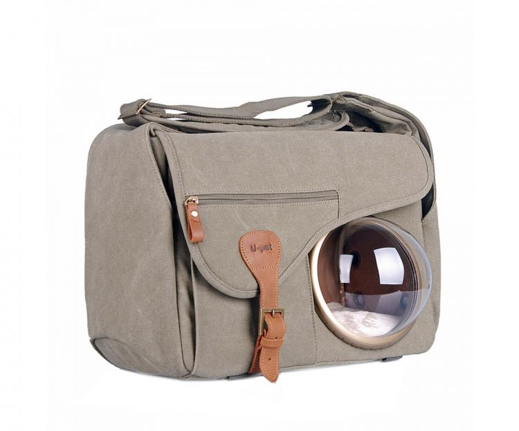 U-Pet Cat Bag - Bubble Window Cat Travel Bag