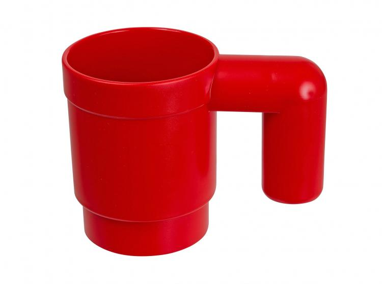 Upscaled Lego Coffee Mug - Red