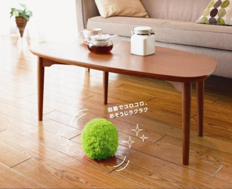 Robotic Floor Sweeping Ball Cleans Your Floor Like a Roomba