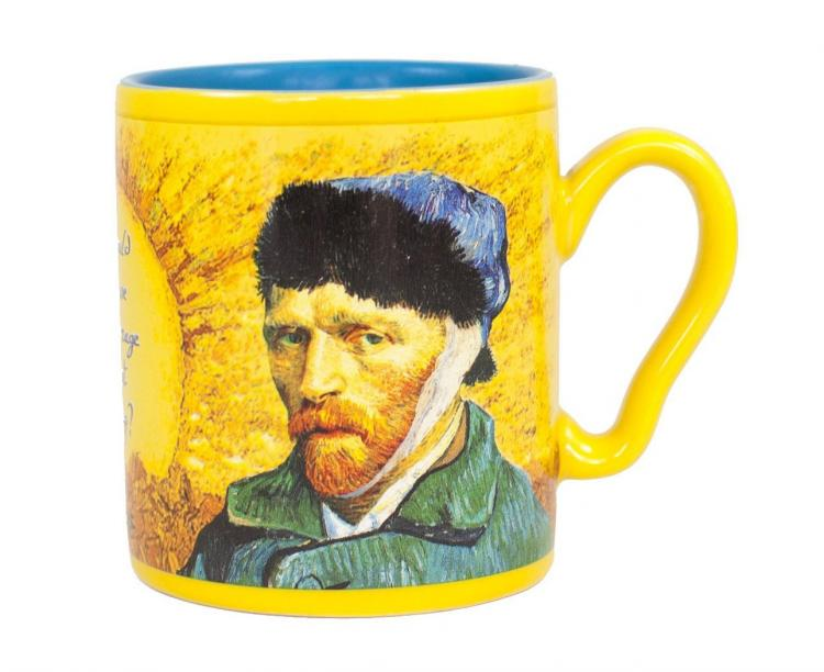 Vincent Van Gogh Disappearing Ear Coffee Mug