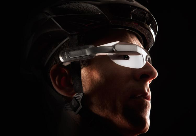 Garmin Varia Vision - In-sight bicycling stats gadget - Heads up display (hud) for bicycling