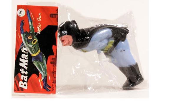 Vintage Inappropriate Batman Water Gun