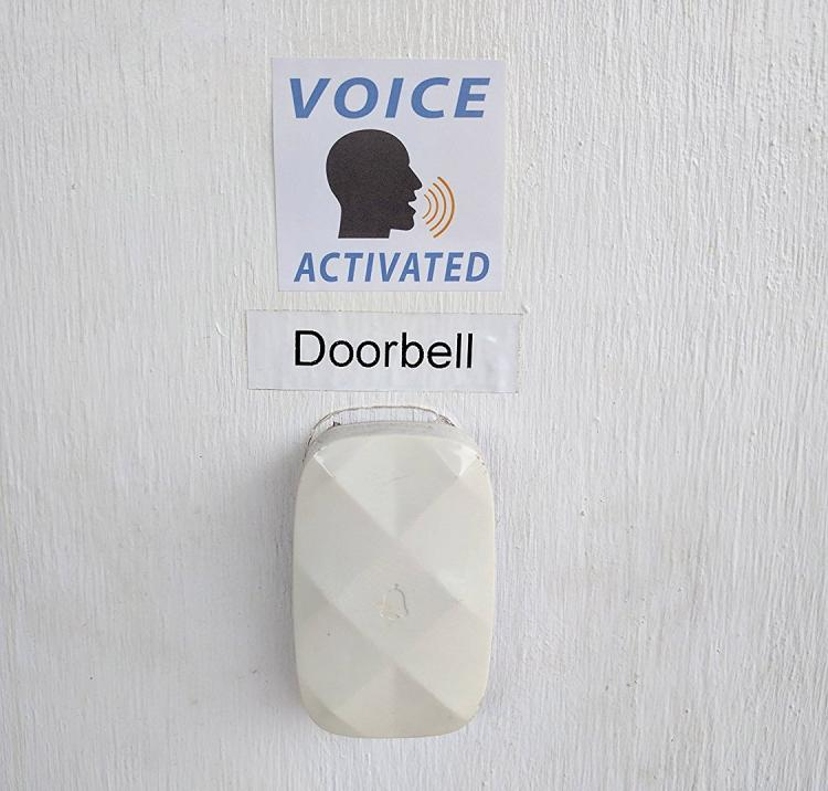Motion Activated Prank Stickers - Voice Activated Prank Stickers