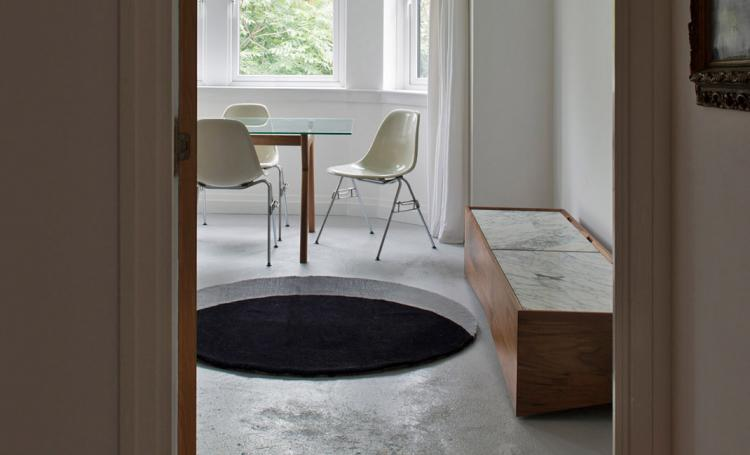 Void Rug Floor Rug Creates Illusion Of Giant Hole In Your Floor