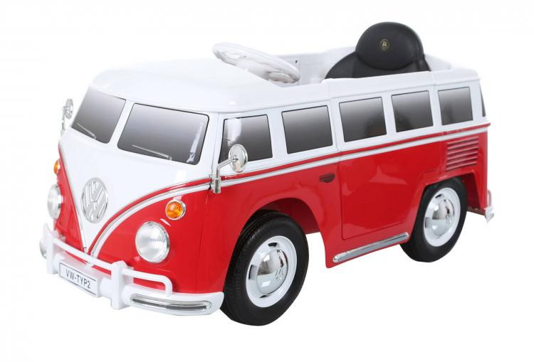 volkswagen bus electric ride on toy car. Black Bedroom Furniture Sets. Home Design Ideas