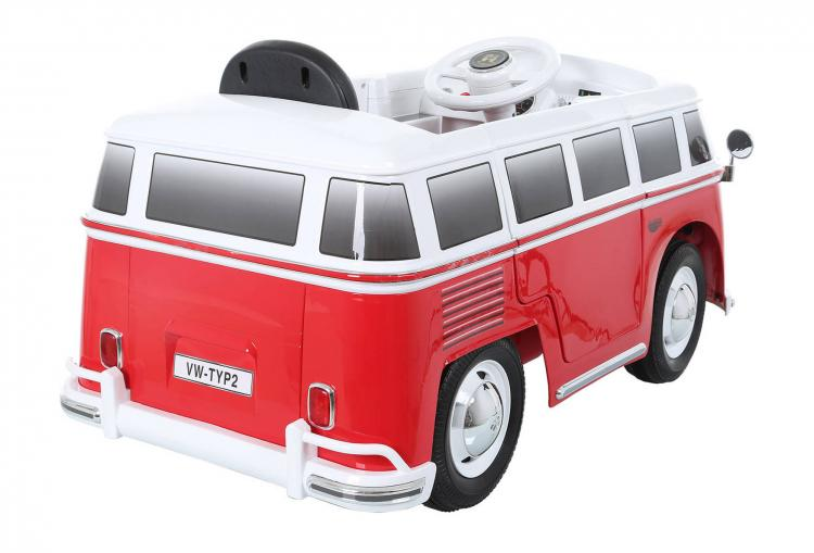 volkswagen bus ride on kids toy car electric vw hippy van toy car