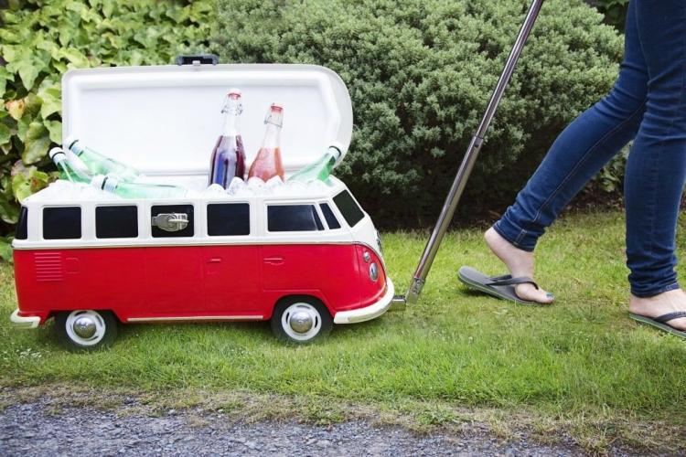 Every Last Detail In The Hippy Van Cooler Is Made To Replicate Volkswagen From 60 S Including Eight Panoramic Roof Windows
