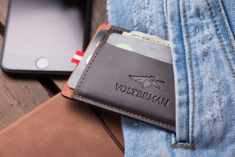 Volterman Smart Wallet Takes Pictures Of Wallet Thieves