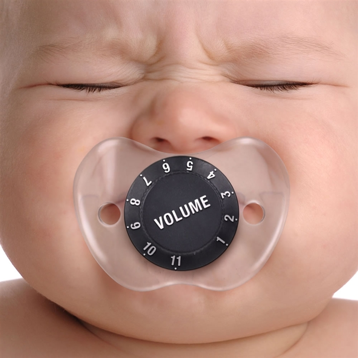 Chill, Baby Volume Knob Baby Pacifier - Music knob baby nook